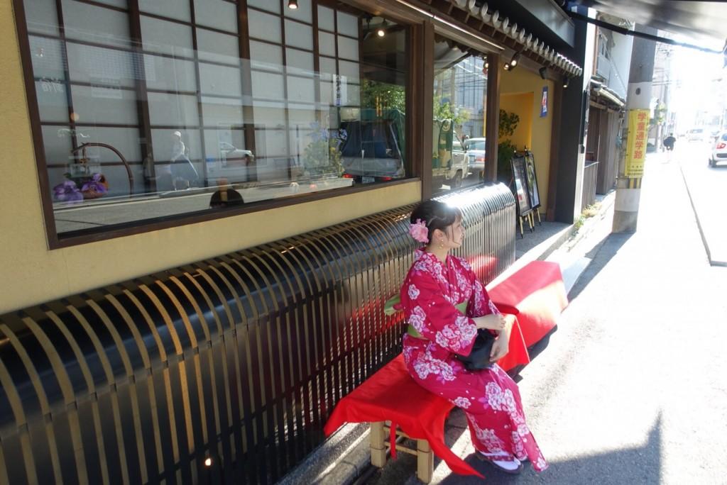 仲良し姉妹♡京都で浴衣レンタル(^^♪2018年8月6日8