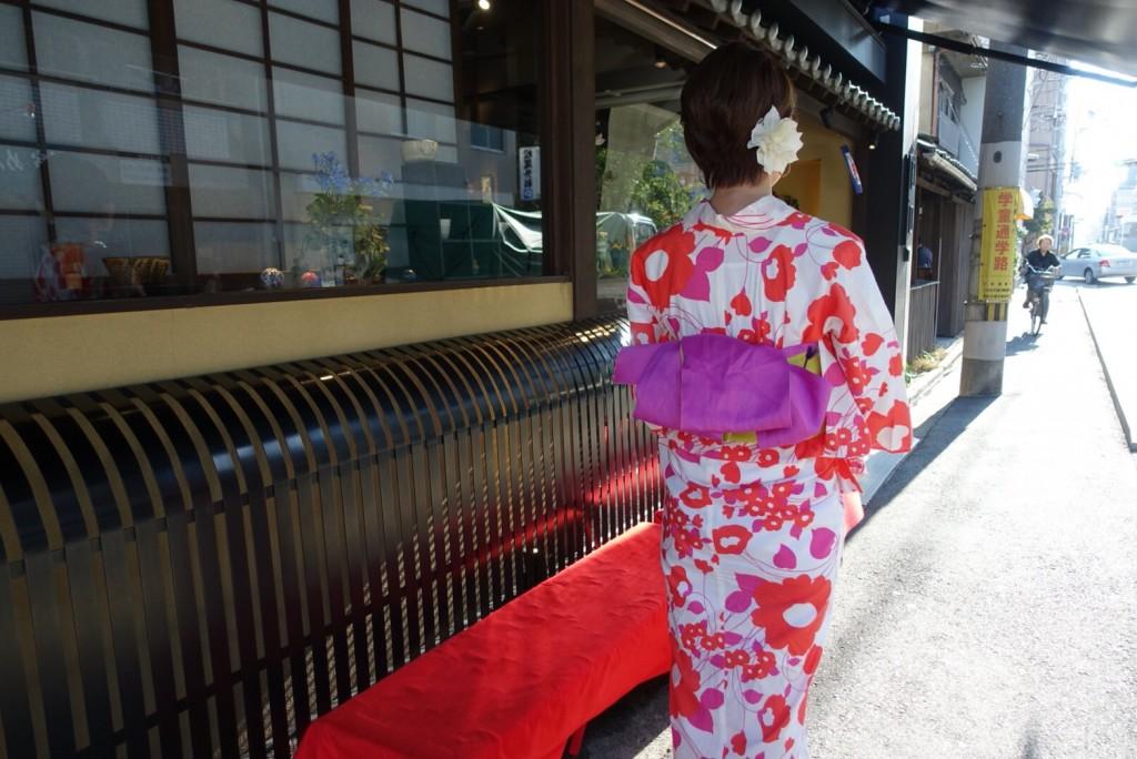 仲良し姉妹♡京都で浴衣レンタル(^^♪2018年8月6日9