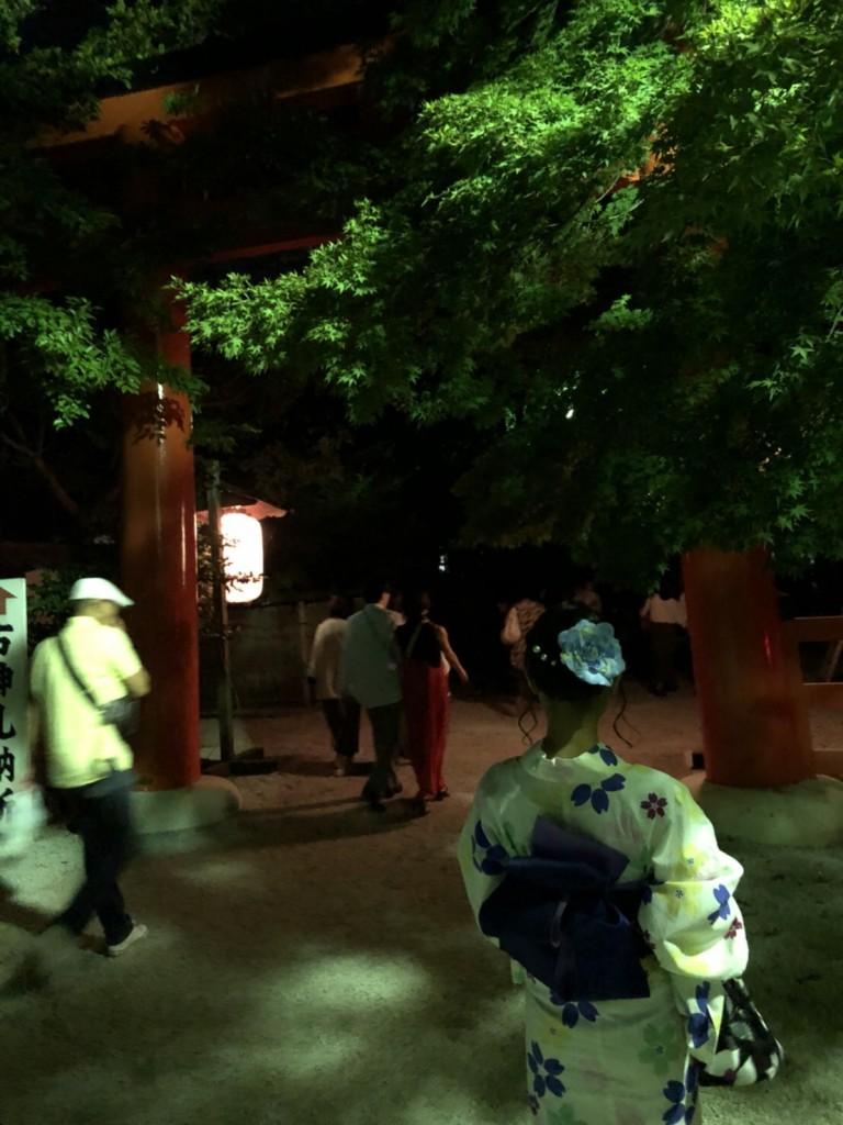 下鴨神社 糺の森の光の祭2018 2018年8月17日7