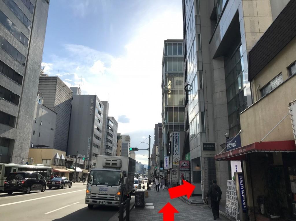 烏丸駅から(新店舗)(8)
