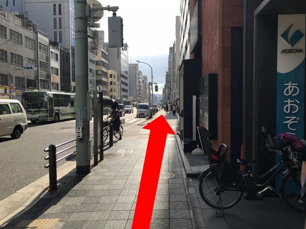 烏丸駅から(新店舗)(6)