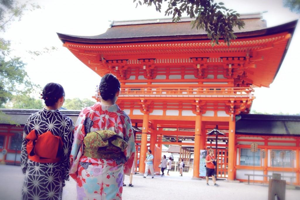 沖縄から京都で夏休み楽しめましたぁ♪2018年9月28日9