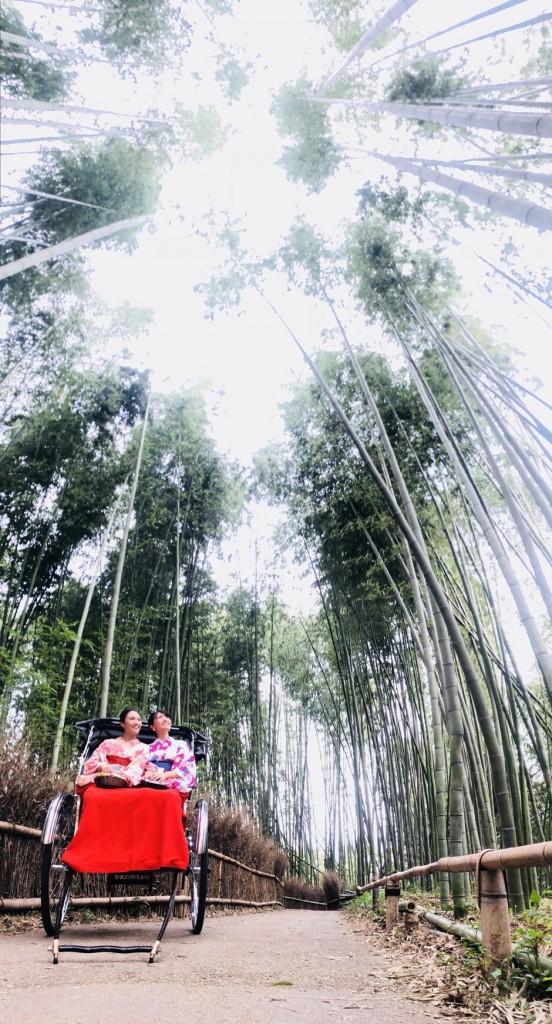 京都 嵐山を人力車で♪2018年9月24日3