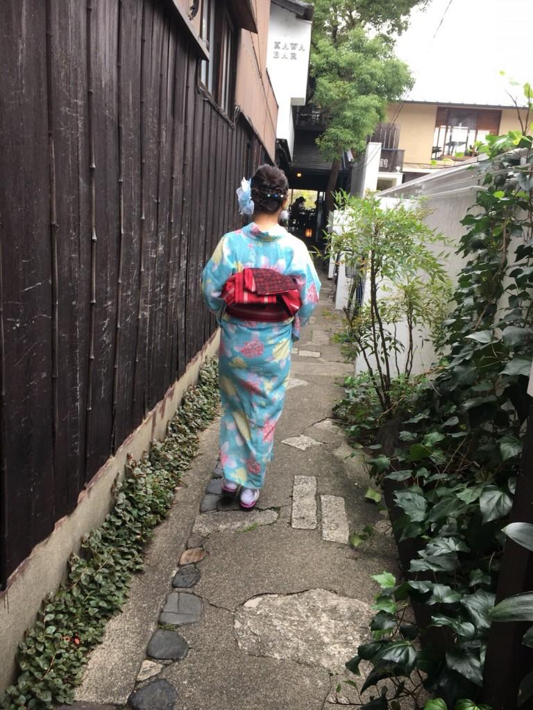 台湾から着物レンタルで清水寺へ♪2018年9月26日1