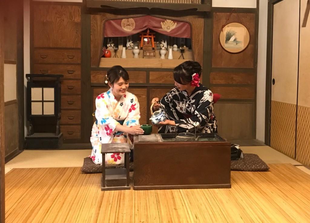 東映太秦映画村から鴨川へ(^^♪2018年9月6日9