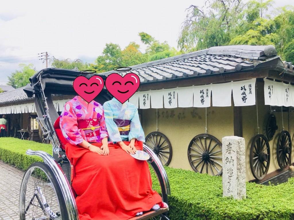 東映太秦映画村から鴨川へ(^^♪2018年9月6日7