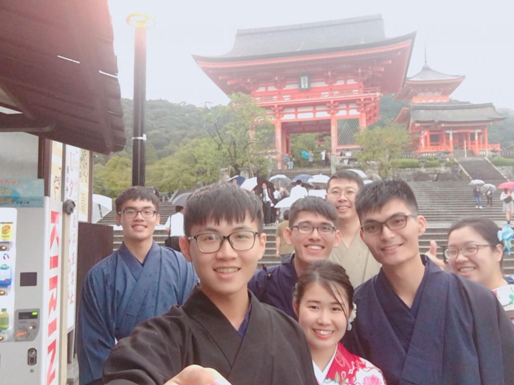 台湾から着物レンタルで清水寺へ♪2018年9月26日4