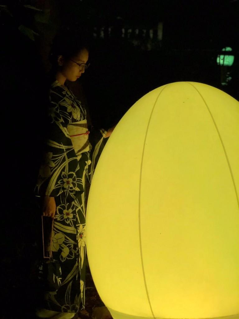 糺の森の光の祭2018 最終日も大人気2018年9月2日12