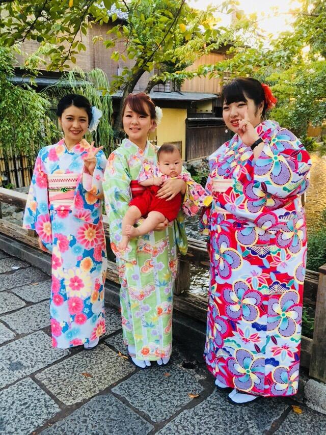 沖縄から京都で夏休み楽しめましたぁ♪2018年9月28日11