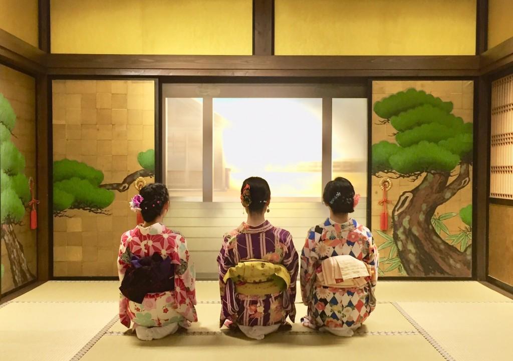 キティちゃんとカフェ(^^♪2018年10月7日1