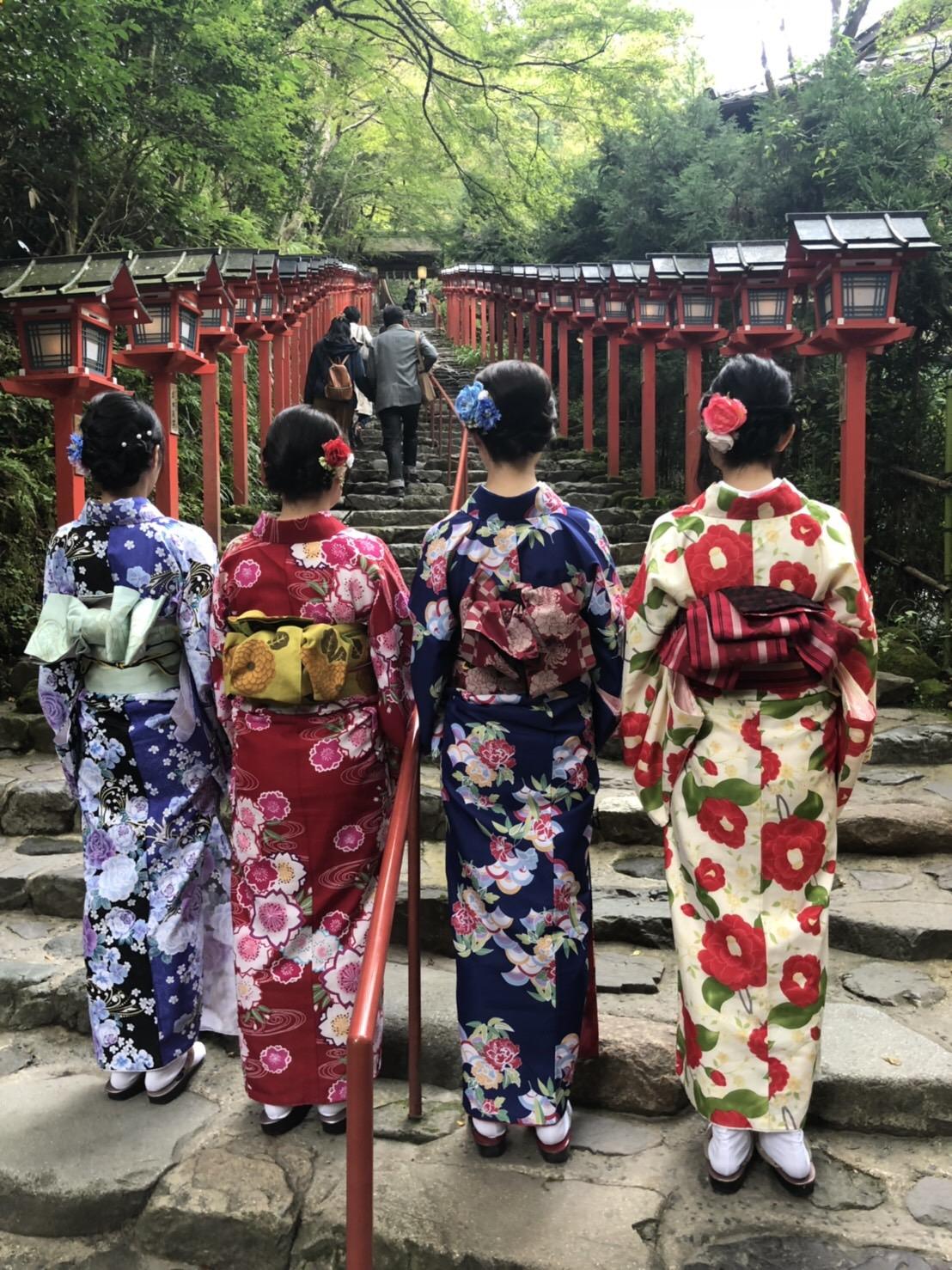 最後に着物で京都散策♪2018年10月13日4