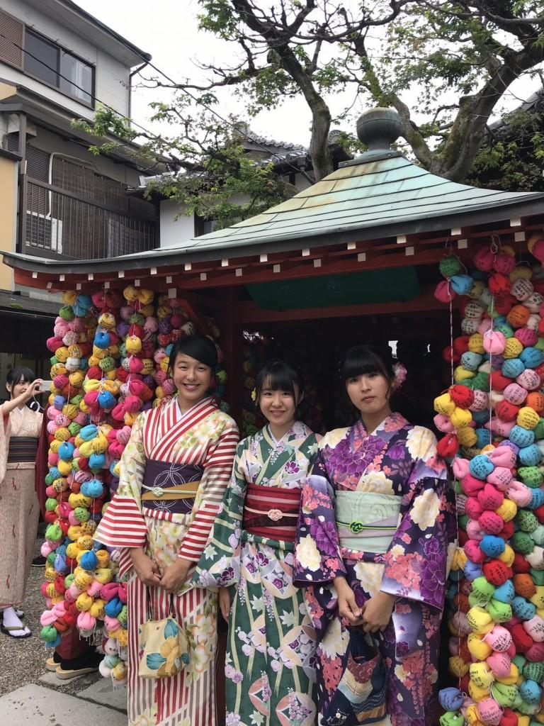 修学旅行生!八坂庚申堂と嵐山へ♪2018年10月11日1