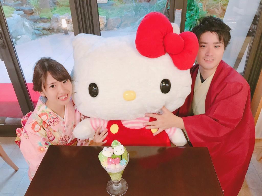 キティちゃんとカフェ(^^♪2018年10月7日3