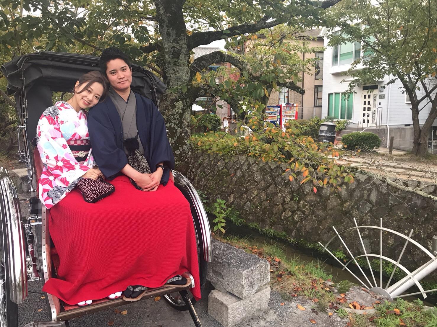カップルプランで嵐山へ♡2018年10月16日8