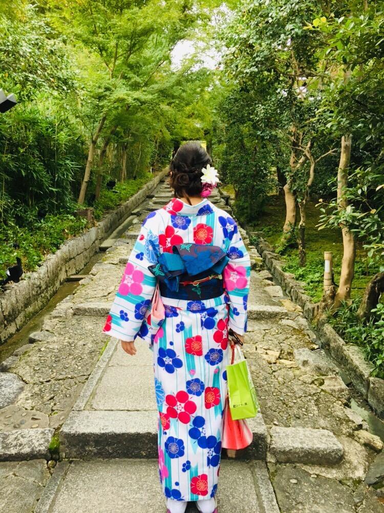 最後に着物で京都散策♪2018年10月13日3