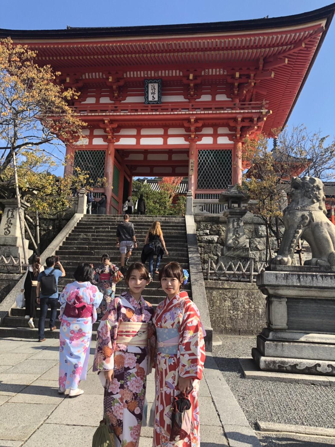 金閣寺も紅葉少し色付いて来ました♪2018年11月7日4
