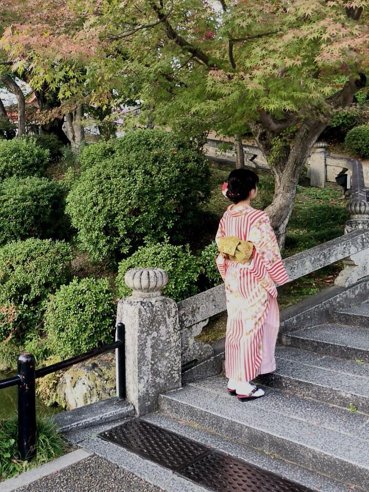 「嵐電一日フリーきっぷ」で京都を満喫♪2018年11月8日5