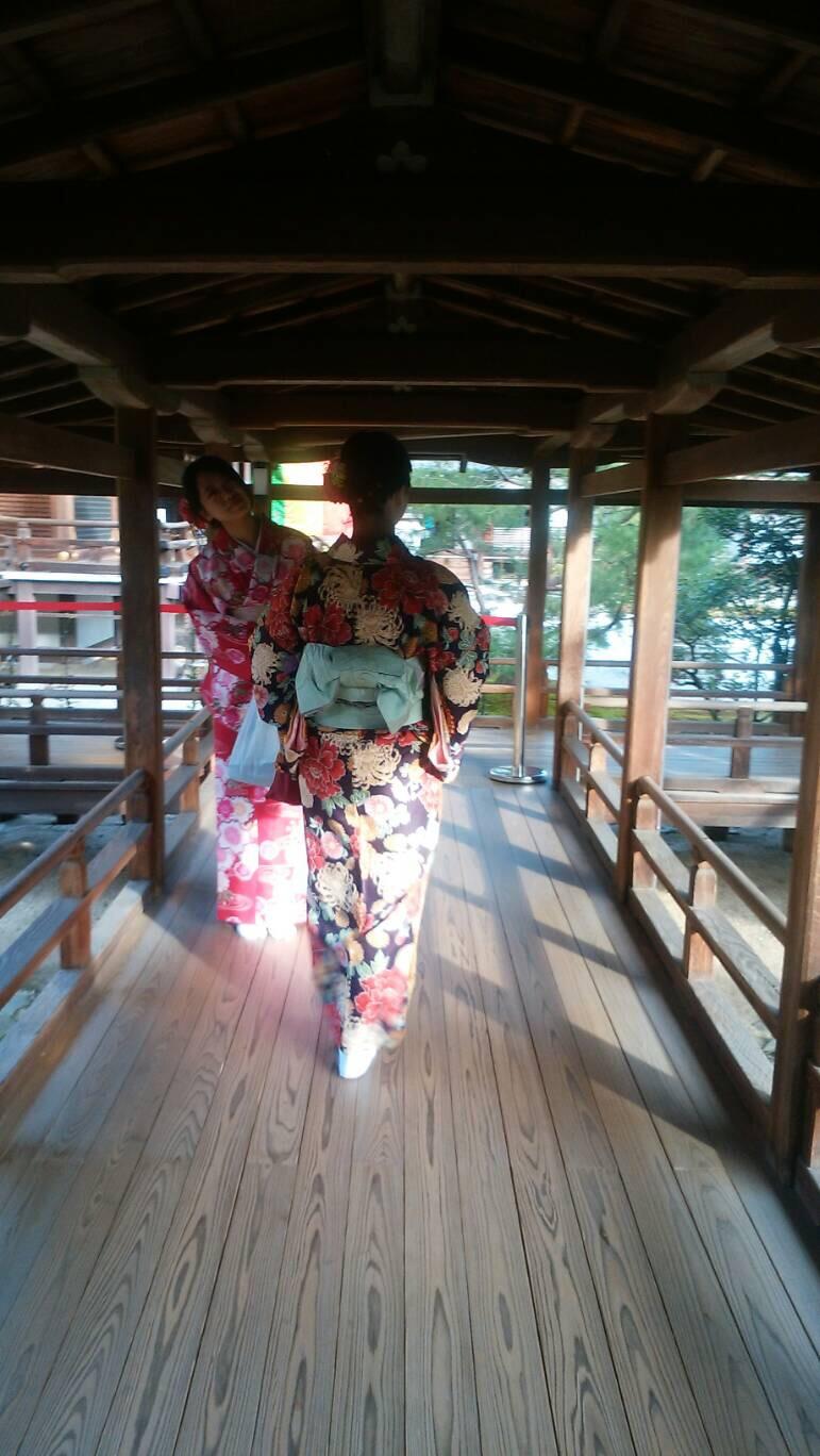 「嵐電一日フリーきっぷ」で京都を満喫♪2018年11月8日3