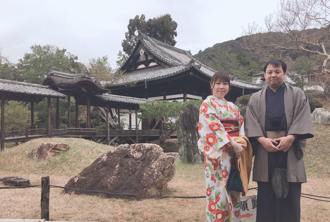 冬休みに京都で着物レンタル(^^♪2018年12月23日1