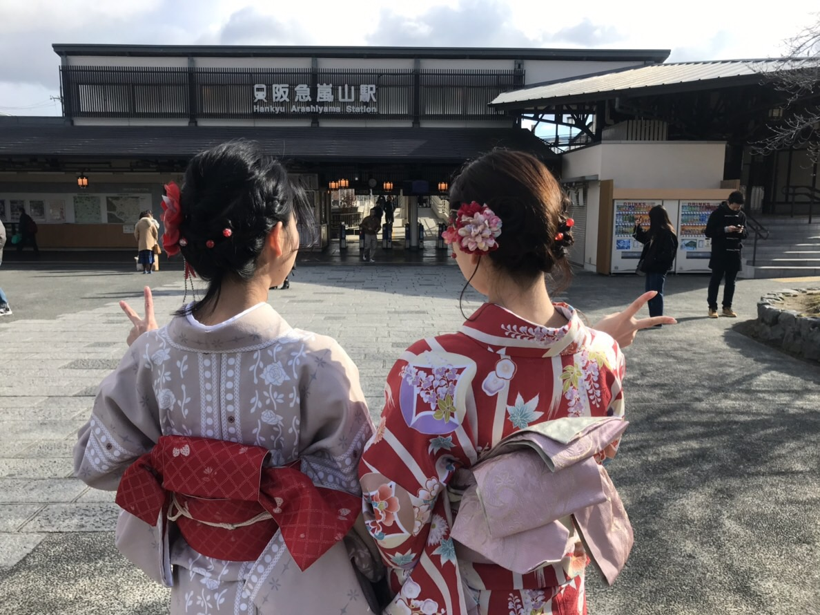 伏見稲荷大社・八坂神社・河合神社へ2018年12月30日3