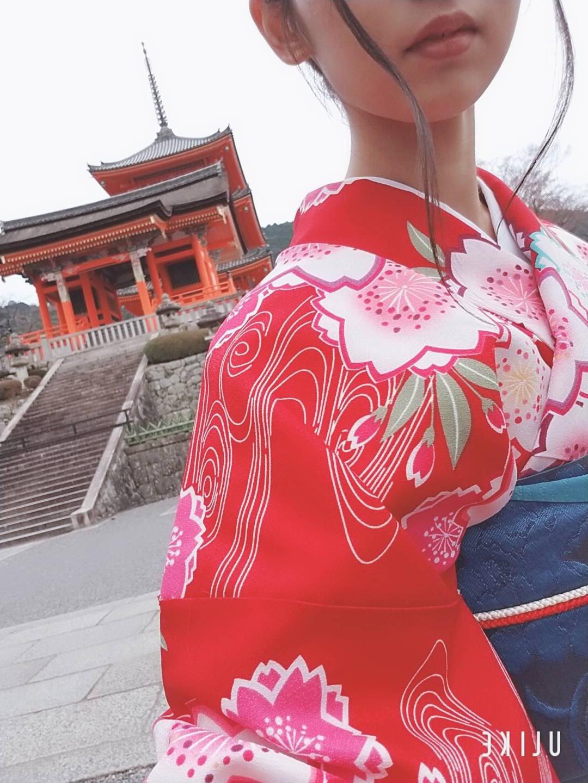 冬休みに京都で着物レンタル(^^♪2018年12月23日5