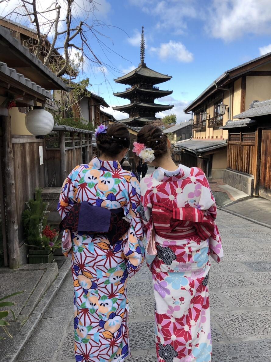 金閣寺でうっすらと雪化粧2018年12月28日4