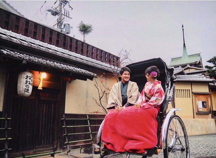 冬休みに京都で着物レンタル(^^♪2018年12月23日6