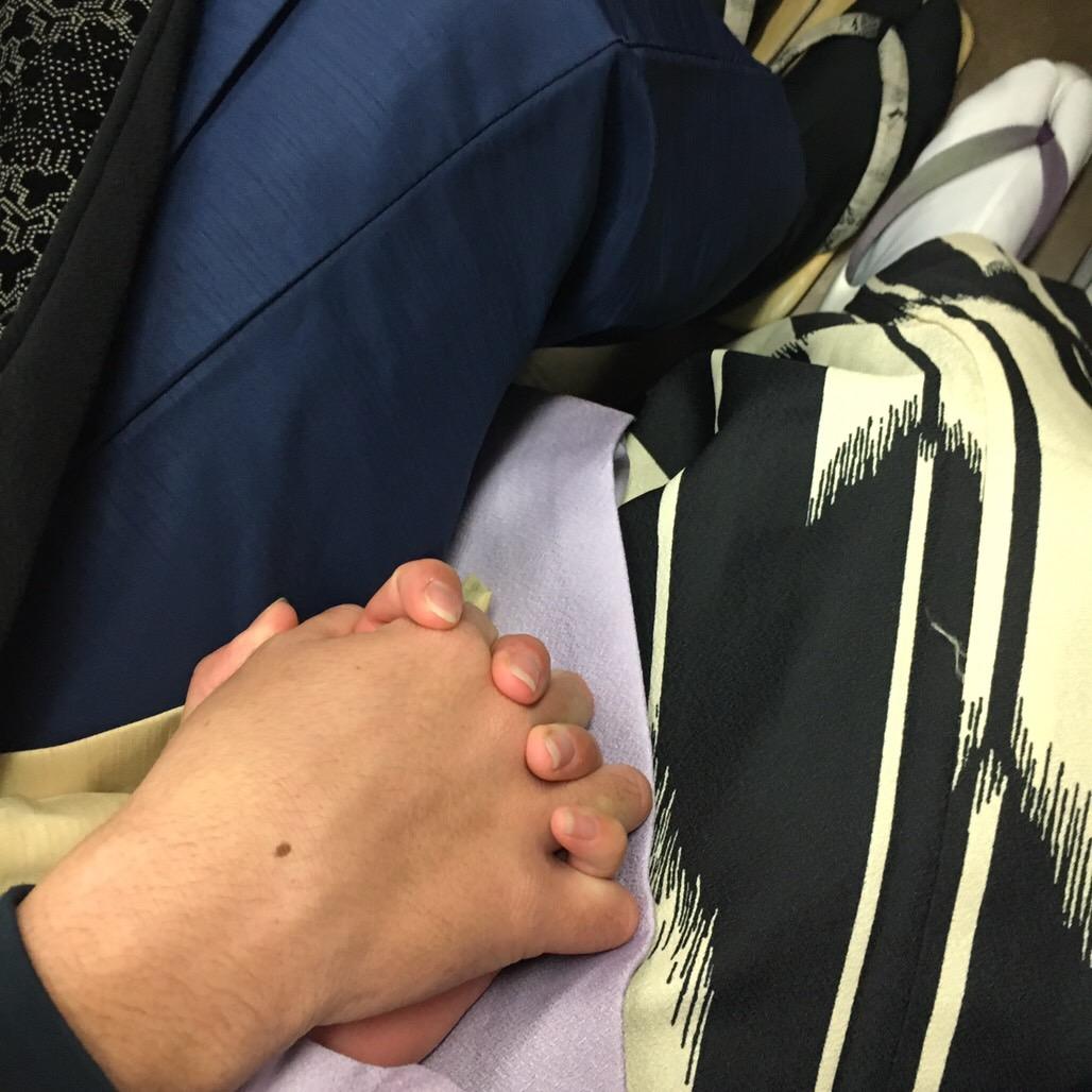 クリスマスはカップルで着物レンタル♡2018年12月25日17