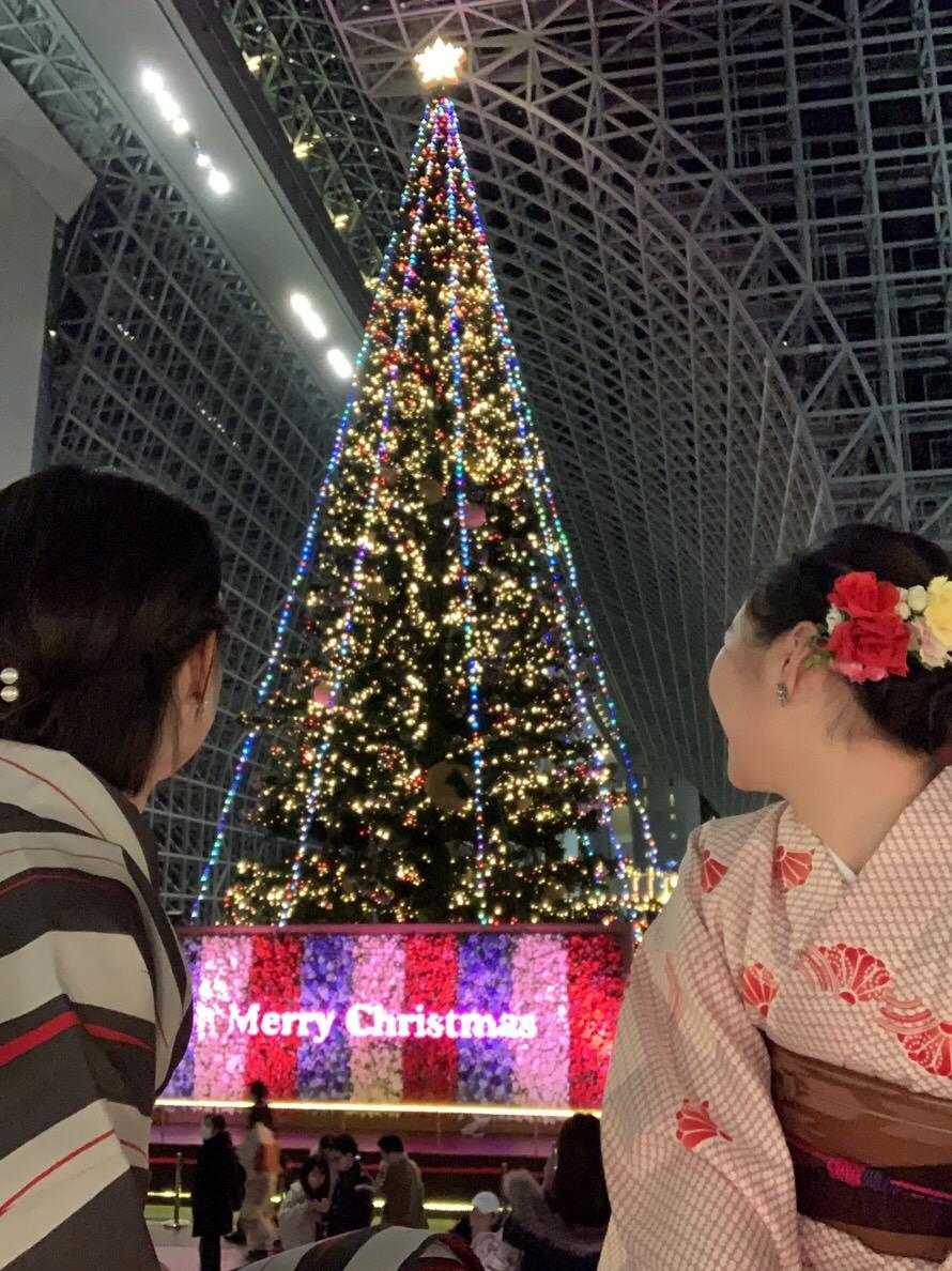 クリスマスはカップルで着物レンタル♡2018年12月25日19