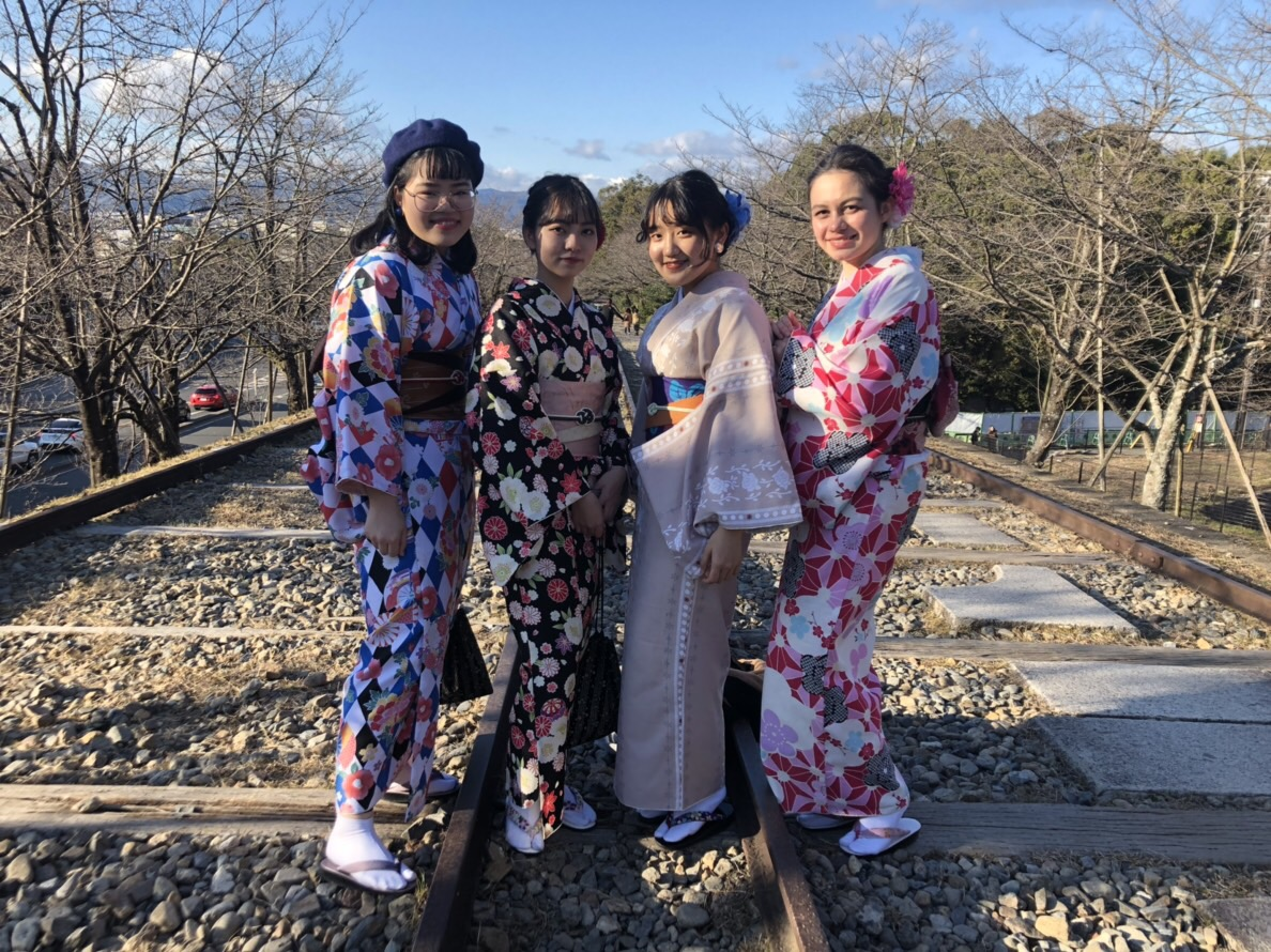 家族で北海道から京都旅行(^^♪2019年1月14日6