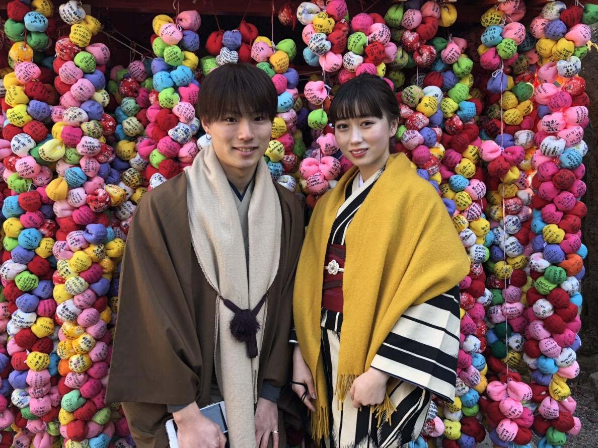 家族で北海道から京都旅行(^^♪2019年1月14日2