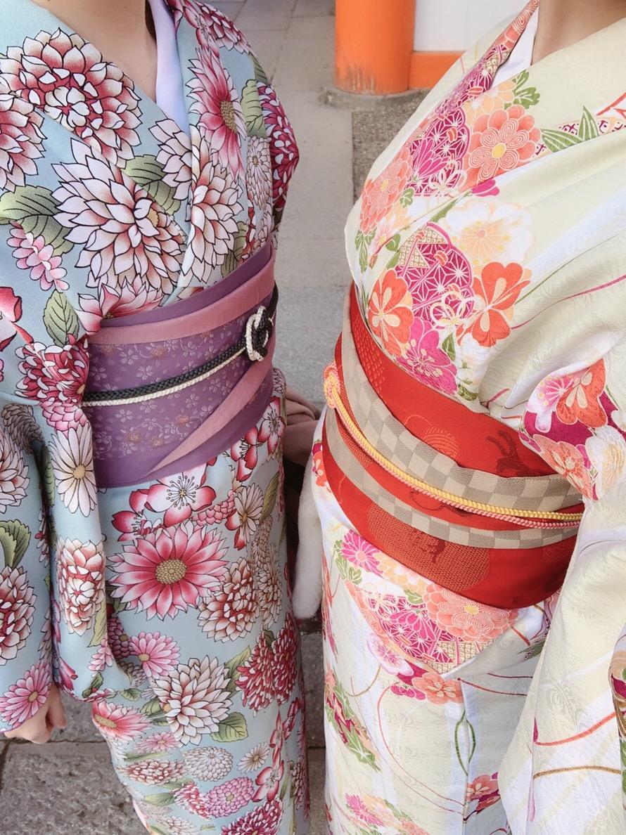 もう少しで終わりの冬休みを京都で着物レンタル2019年1月5日3