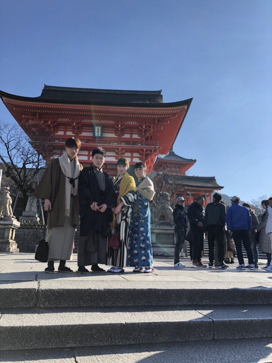家族で北海道から京都旅行(^^♪2019年1月14日3