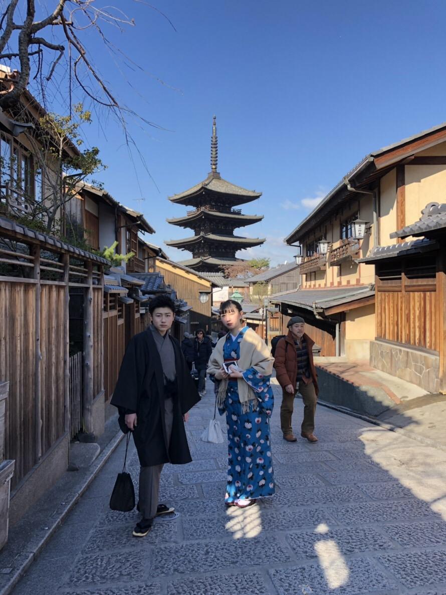 家族で北海道から京都旅行(^^♪2019年1月14日5