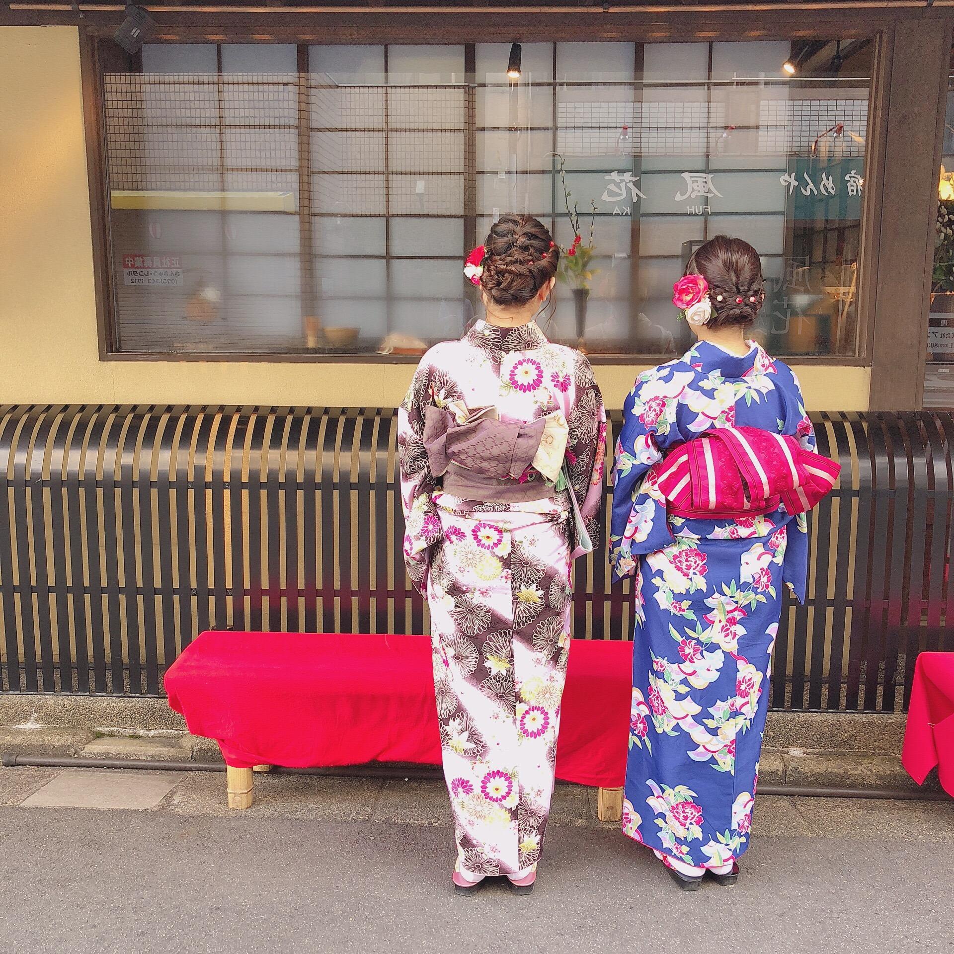 家族で北海道から京都旅行(^^♪2019年1月14日7