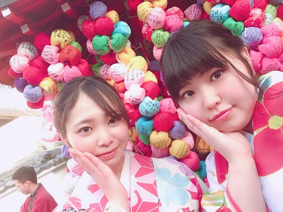 八坂神社で記念撮影♪2019年1月18日1