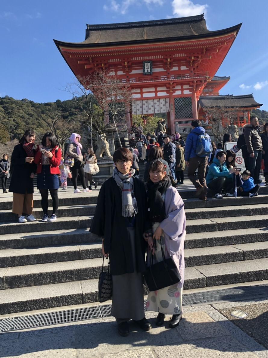 家族で下鴨神社の蹴鞠初めへ2019年1月4日2