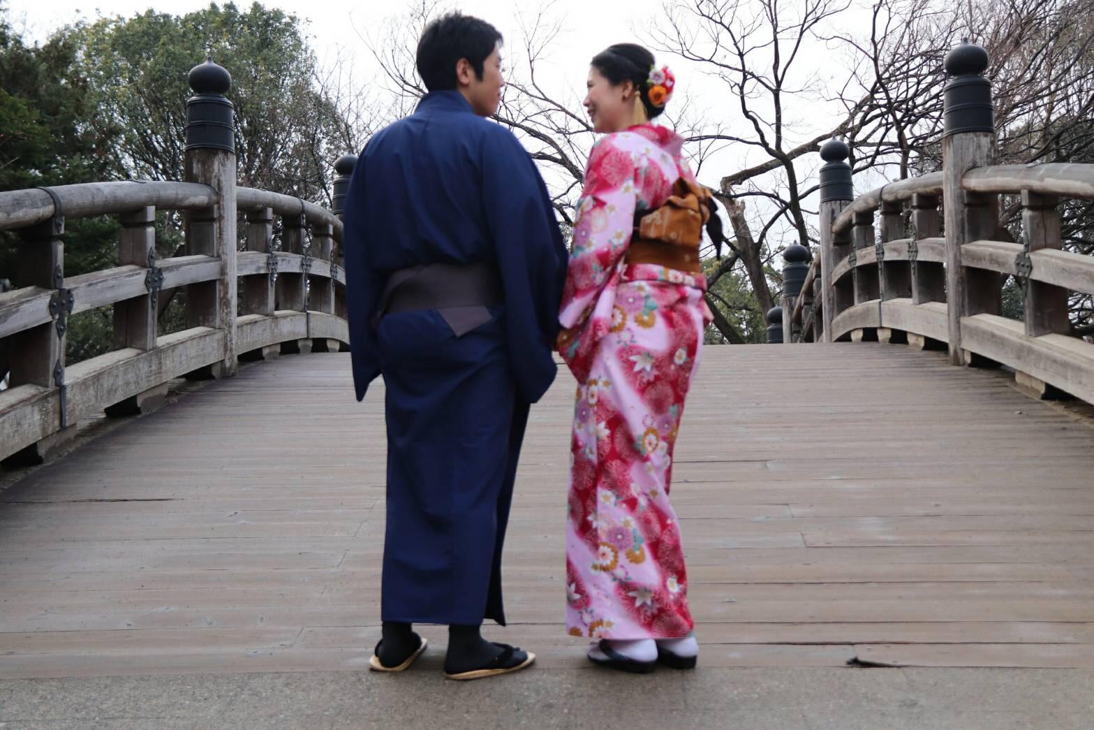 東映太秦映画村で写真撮影♡2019年1月15日1
