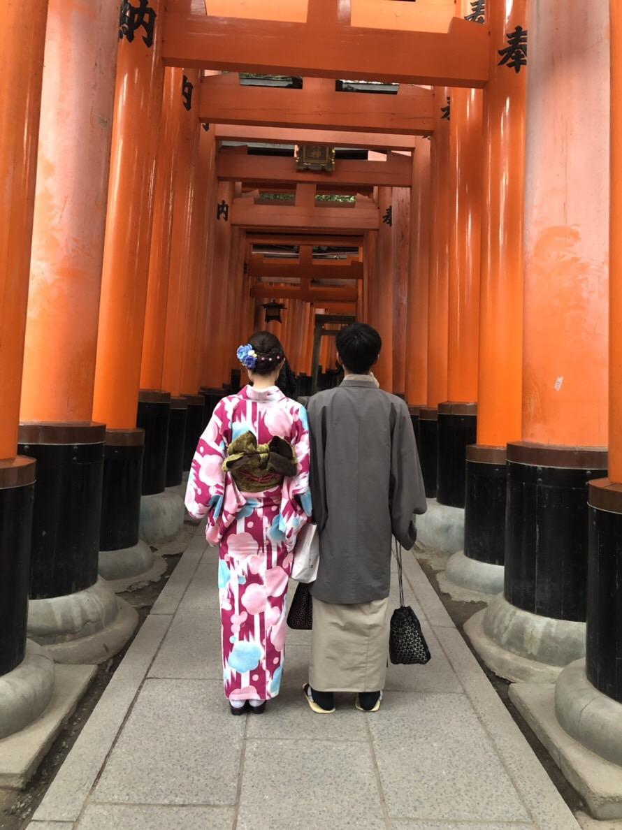 清水寺から伏見稲荷大社へ♡2019年1月10日1