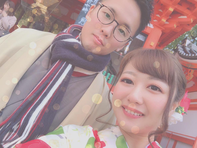 連休もカップルで着物レンタル♡2019年1月13日1