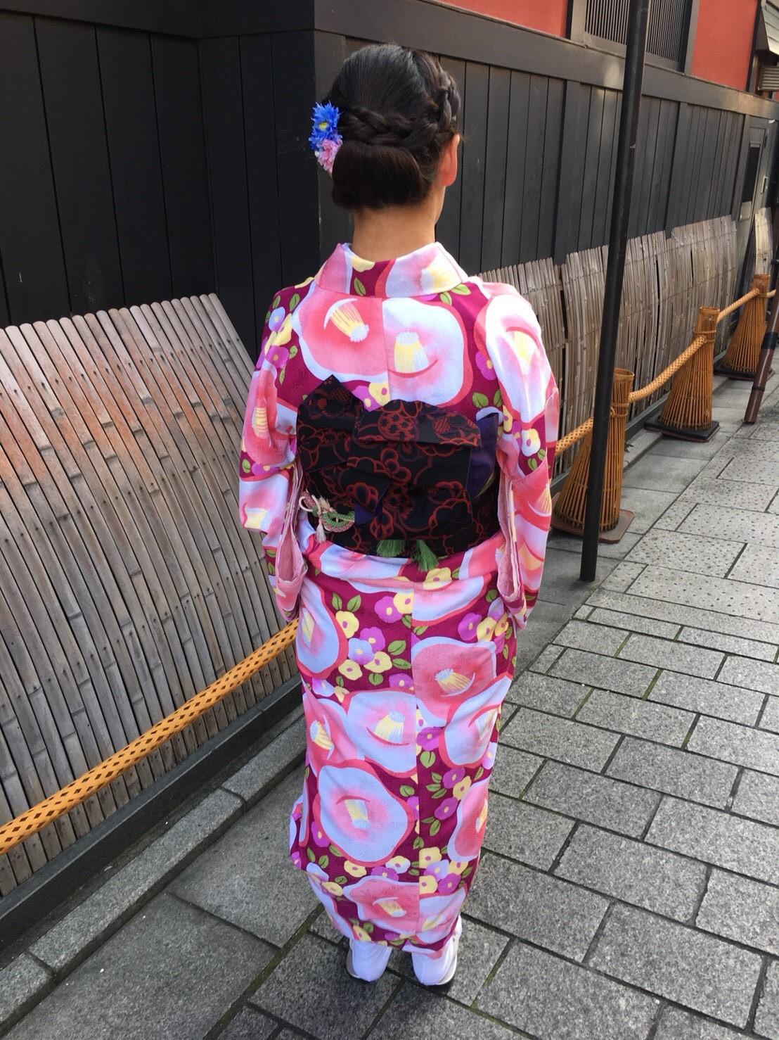 もうすぐ春の京都の夜を楽しんで頂きましたぁ♪2019年2月23日11
