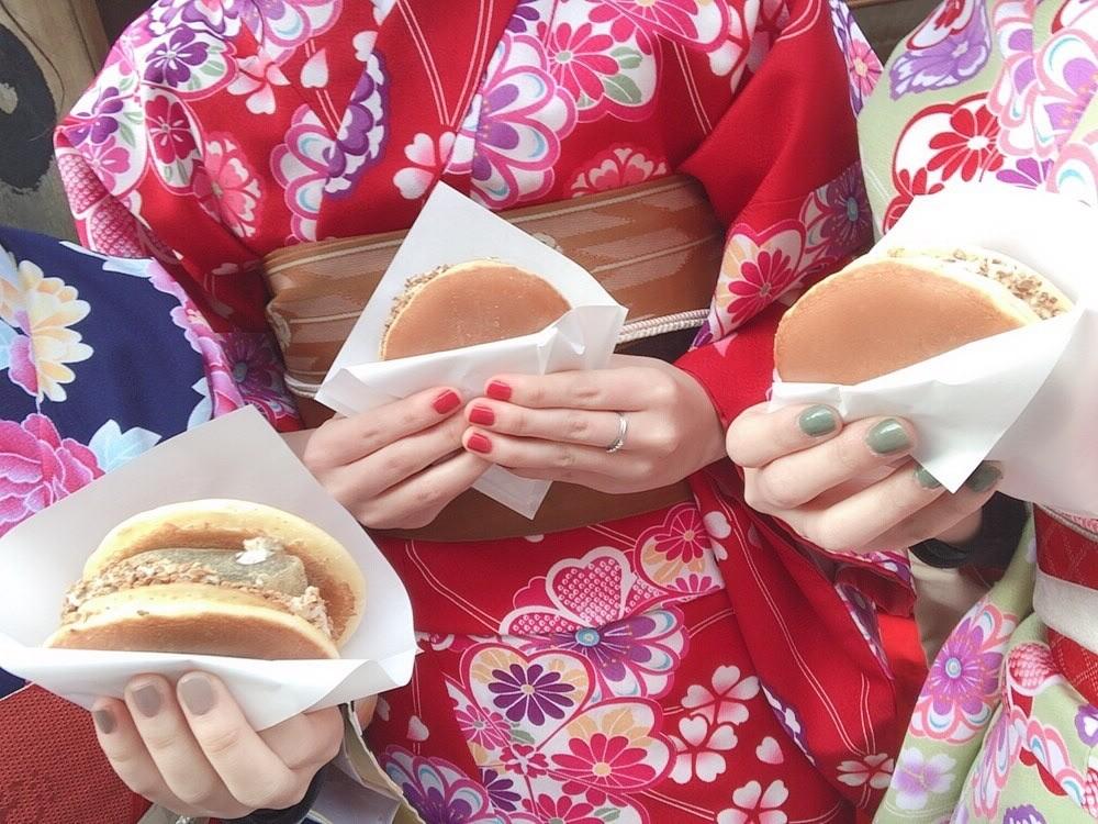 今日は嵐山と伏見稲荷大社が人気でした♡2019年2月7日3