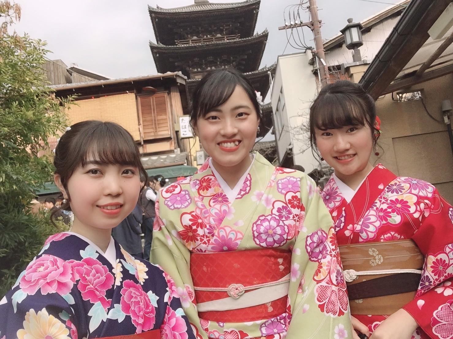 今日は嵐山と伏見稲荷大社が人気でした♡2019年2月7日1