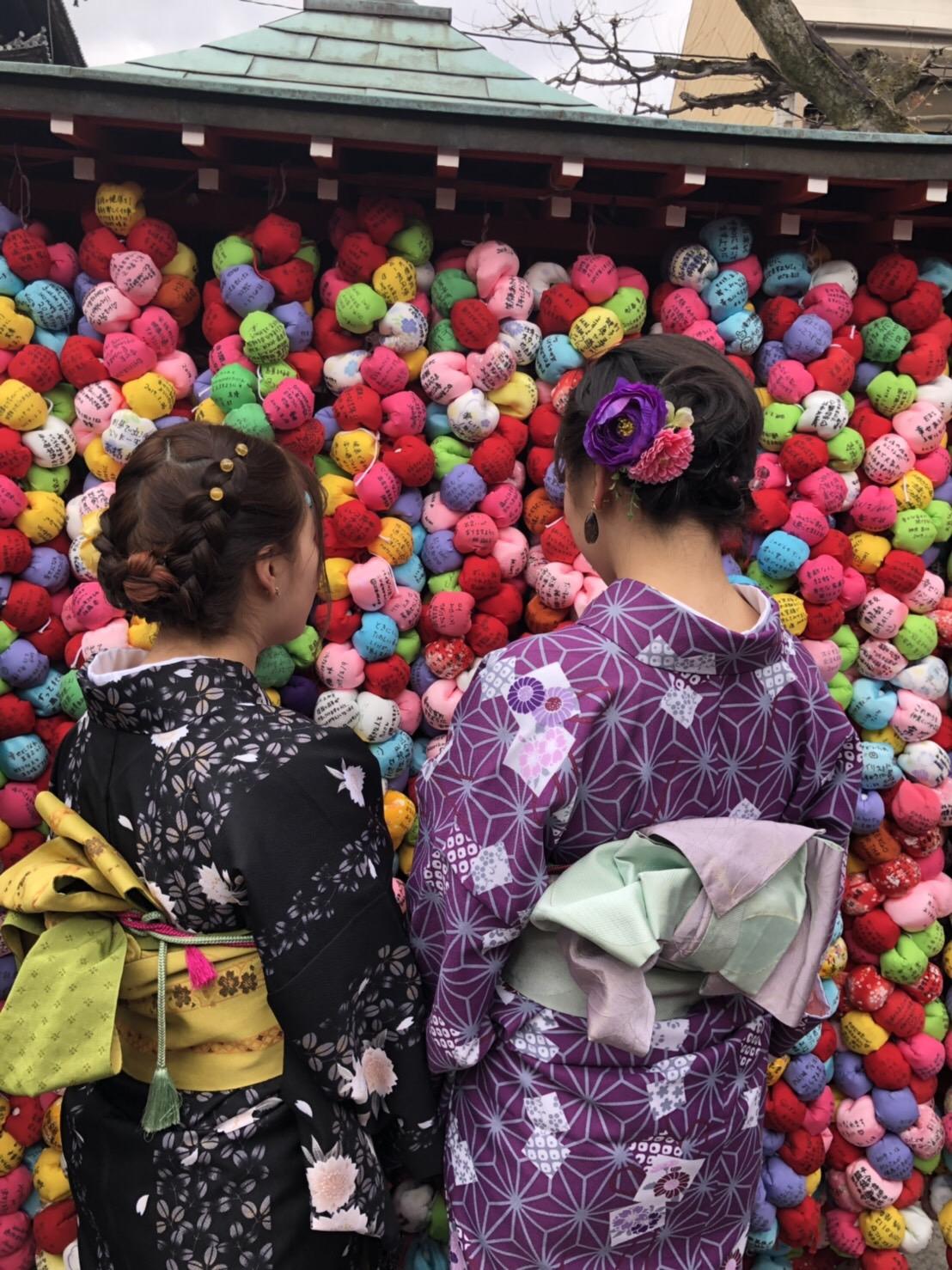 皆で京都へ卒業旅行(^^♪2019年2月21日9