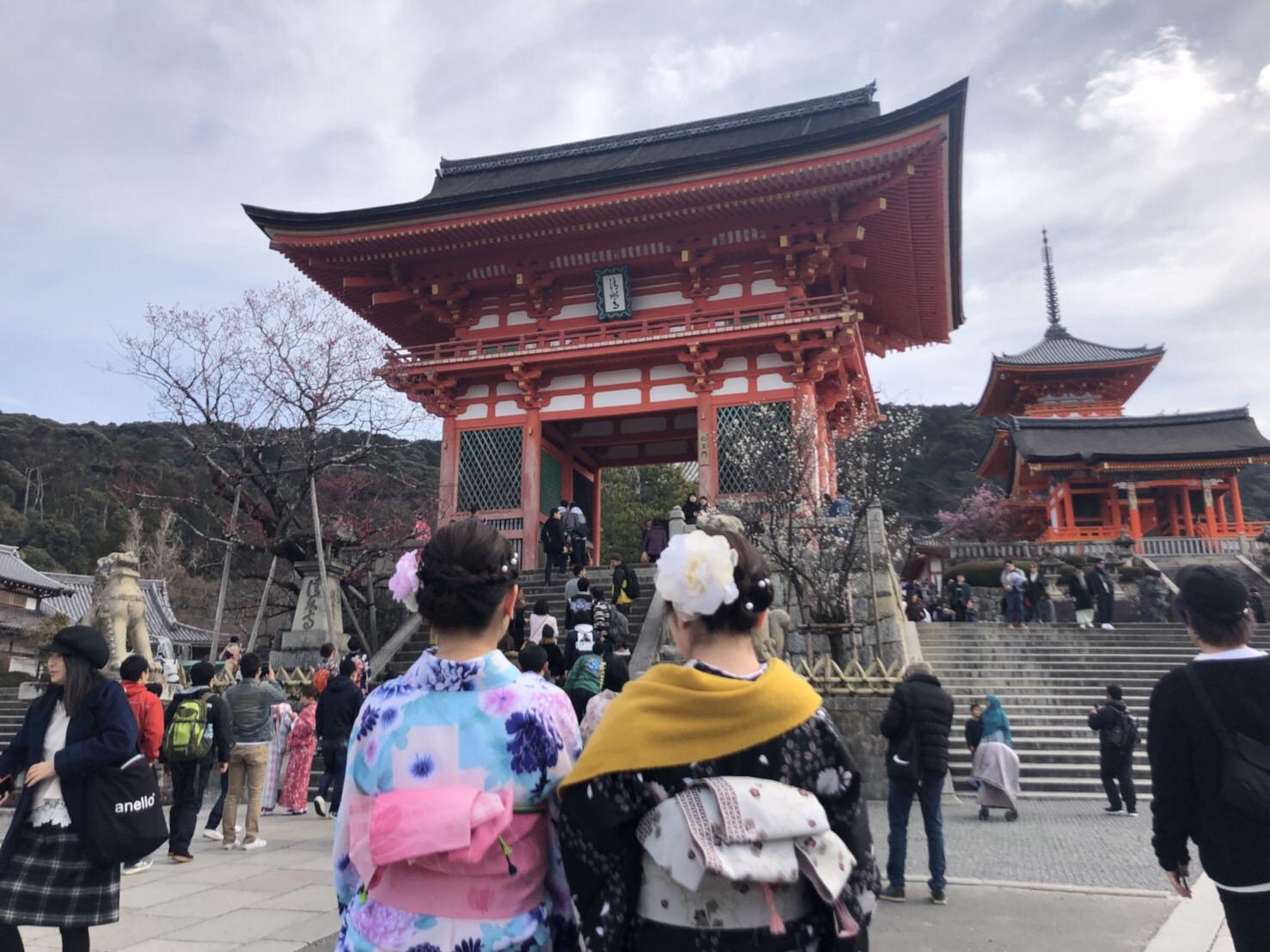 卒業旅行に伏見稲荷大社へ♪2019年2月27日2