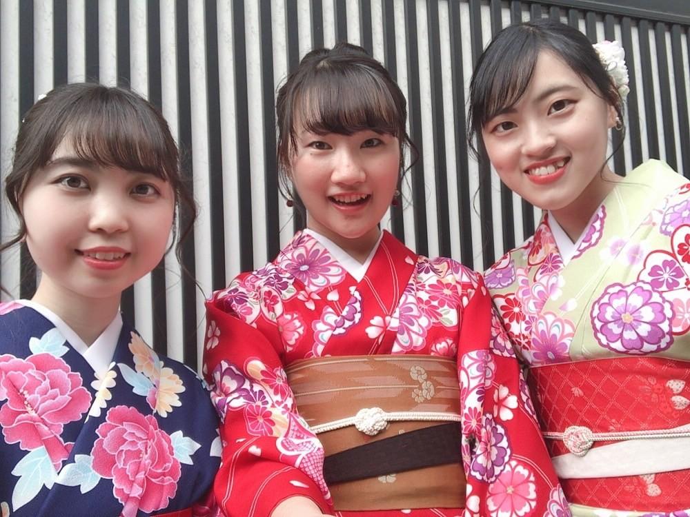 今日は嵐山と伏見稲荷大社が人気でした♡2019年2月7日2
