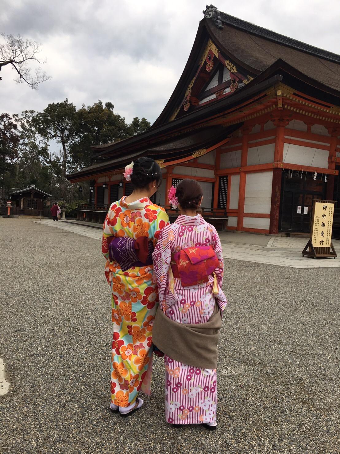 皆で京都へ卒業旅行(^^♪2019年2月21日1