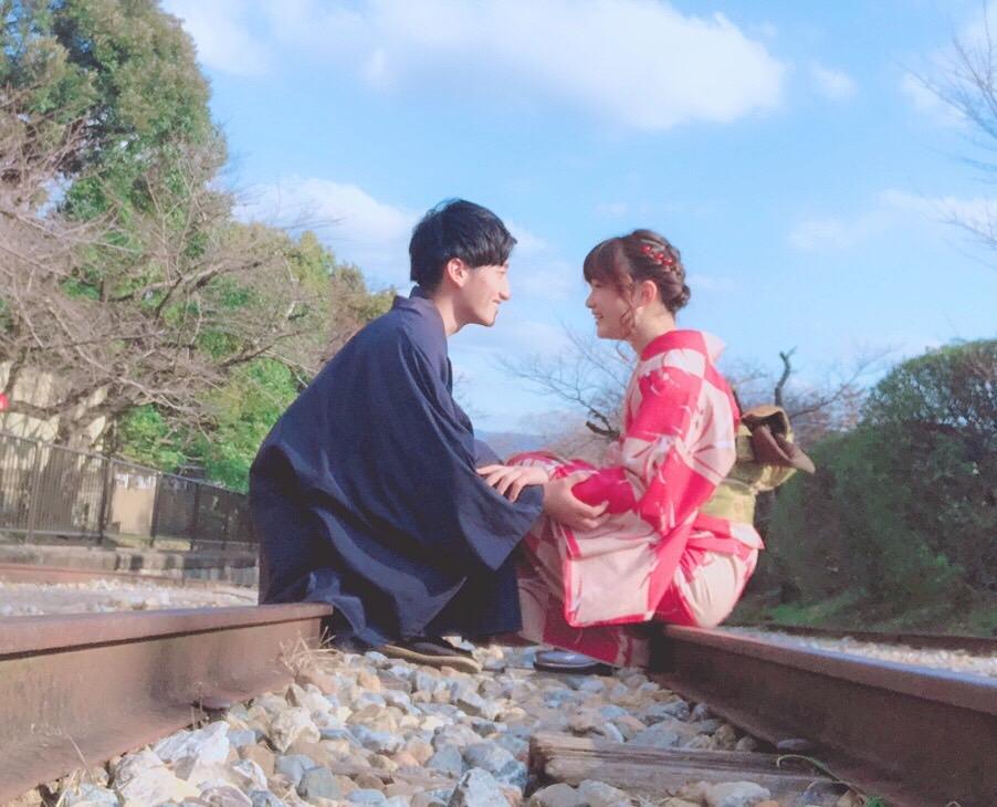 着物で結婚指輪づくり♡2019年2月2日2