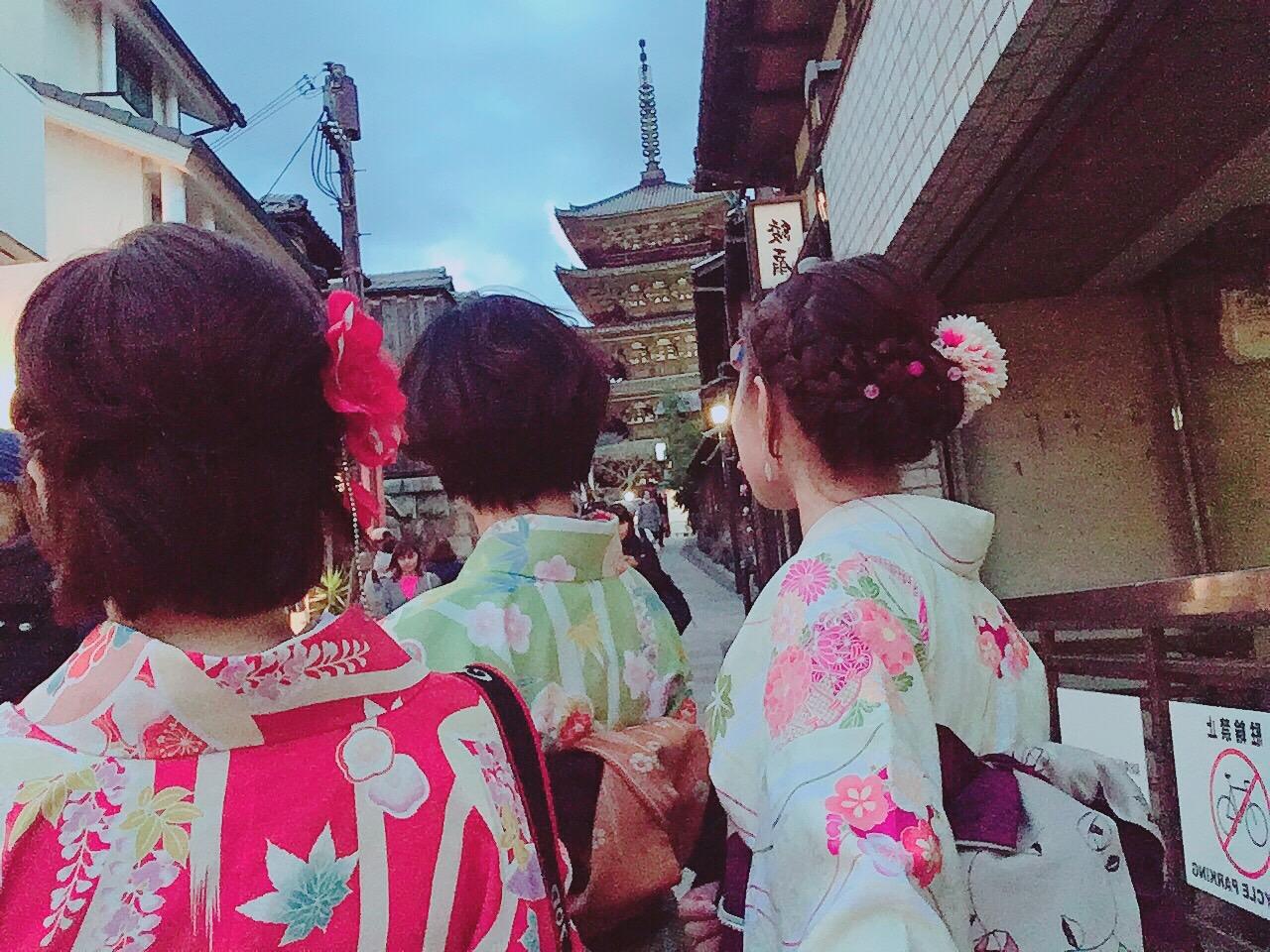カップルプランで京都を満喫♡2019年3月24日18