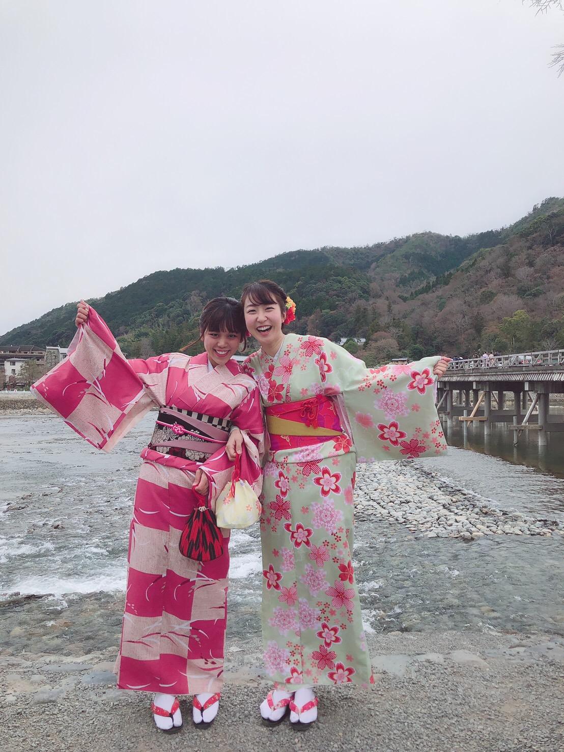京都御苑の枝垂桜2019年3月25日2